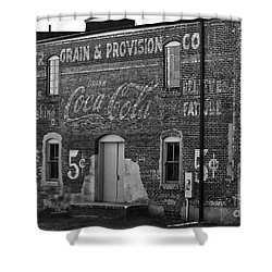 Old Building In Salisbury Nc Shower Curtain