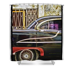 Old Car 2 Shower Curtain by Mauro Celotti