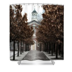 Old City Hall Philadelphia Shower Curtain by Bill Cannon