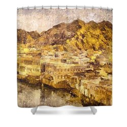 Old City Of Muscat Shower Curtain