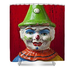 Old Cown Face Shower Curtain by Garry Gay