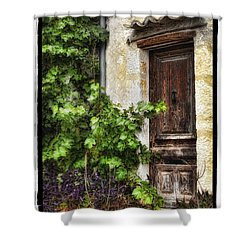 Old Door 2 Shower Curtain by Mauro Celotti
