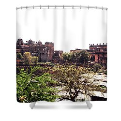 Old Fort In India Shower Curtain by Sumit Mehndiratta
