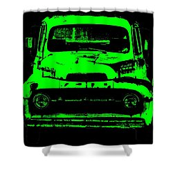 Old Ghost Shower Curtain by Ed Smith