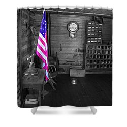 Shower Curtain featuring the photograph Old Glory by Deniece Platt