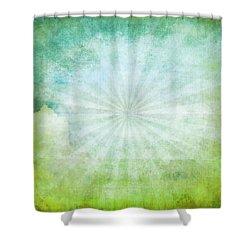 Old Grunge Paper Shower Curtain by Setsiri Silapasuwanchai