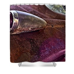 Old Into Gold Shower Curtain by Susan Smith