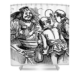 Old King Cole Shower Curtain by Granger