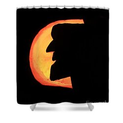 Old Man Of The Mountian Shower Curtain by Lloyd Alexander
