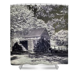Old Mill Shower Curtain by Joann Vitali
