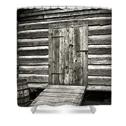 Old Shed Shower Curtain by Patrick M Lynch