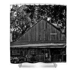 Old Spanish Sugar Mill Shower Curtain by DigiArt Diaries by Vicky B Fuller