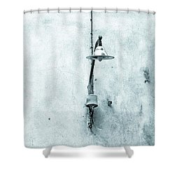 Old Street Lamp Shower Curtain by Silvia Ganora