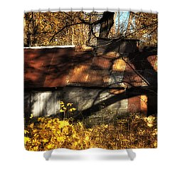 Old Sugar Shack Shower Curtain