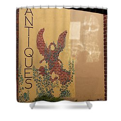 Old Town Grants Pass Detail Shower Curtain by Mick Anderson