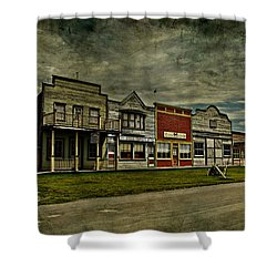 Old Town Witchit  Shower Curtain by Empty Wall