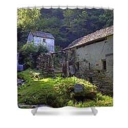 Old Watermill Shower Curtain by Joana Kruse
