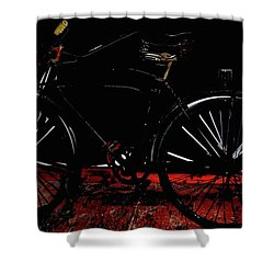 Old Way To Go Shower Curtain by Jerry Cordeiro
