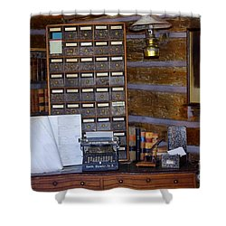Shower Curtain featuring the photograph Old West 3 by Deniece Platt