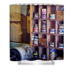 Shower Curtain featuring the photograph Old West 6 by Deniece Platt
