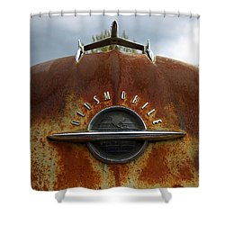 Oldsmobile Shower Curtain by Steve McKinzie