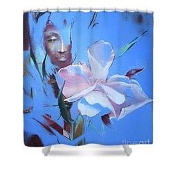 Oleandera Shower Curtain
