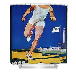 Olympic Games, 1928 Shower Curtain by Granger