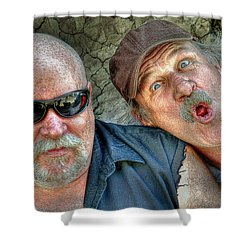 On A Napanee Stoop One Day Shower Curtain