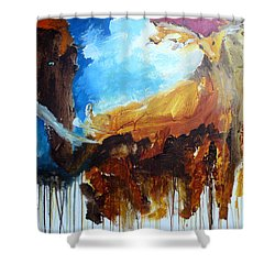 On Safari Shower Curtain