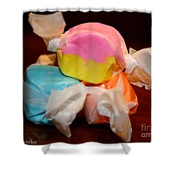 On Top Of The World Shower Curtain by Susan Herber