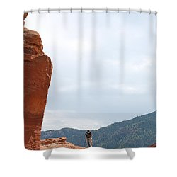 Only A Photographer Would Do.. Shower Curtain