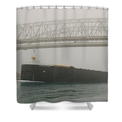 Only A Stones Throw Away Shower Curtain by Randy J Heath
