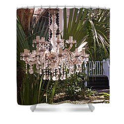 Only In Beaufort Shower Curtain by Patricia Greer
