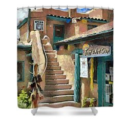 Open For Business Shower Curtain by Jeff Kolker