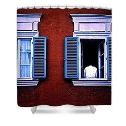 Open Window Shower Curtain