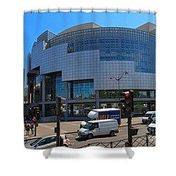 Opera De Paris Bastille Shower Curtain by Louise Heusinkveld