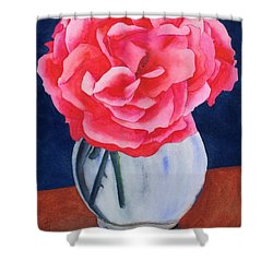 Opera Rose Shower Curtain by Ken Powers