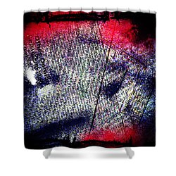Opinion Of Stain Shower Curtain by Jerry Cordeiro