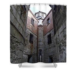 Oppression II Shower Curtain by Richard Reeve