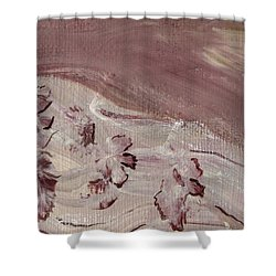 Orchid River Shower Curtain