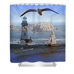 Oregon Coast Composite Shower Curtain