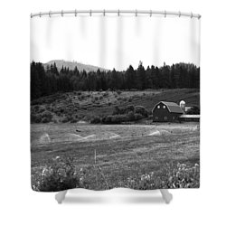 Oregon Farm Shower Curtain