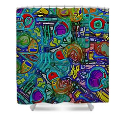 Organized Chaos Shower Curtain