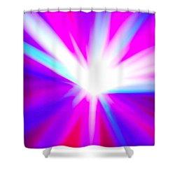 Origin Of Kosmos Shower Curtain