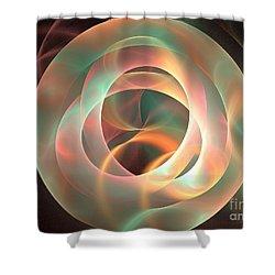 Orthosie Shower Curtain by Kim Sy Ok