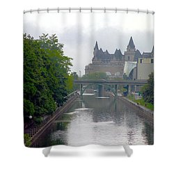 Ottawa Rideau Canal Shower Curtain