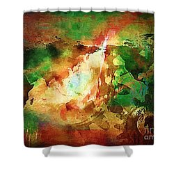 Our Time. Shower Curtain by Marek Lutek