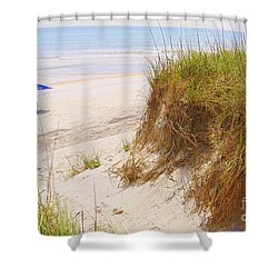 Shower Curtain featuring the photograph Outerbanks by Lydia Holly
