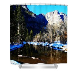 Over The Meadow Shower Curtain