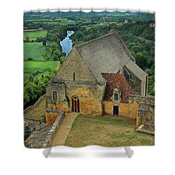 Overlooking The French Countryside Shower Curtain by Dave Mills